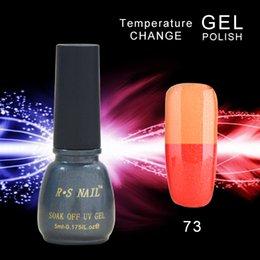 Wholesale Temperature change nail gel nail polish uv gel nail kit gel varnish nail glue unhas de gel color changing esmalte permanente