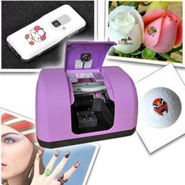 Wholesale New Multi function Digital Printing Machine For Nails Golf Balls Flowers Phones