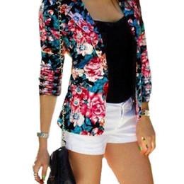 Discount Ladies Floral Printed Blazers | 2017 Ladies Floral ...