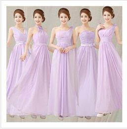 Wholesale Cheap Bridesmaid Dresses Under Light Purple Bridesmaid Dress Dreamlike Dress For Wedding Party Long Greek Goddess Dress A365