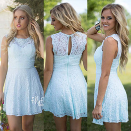 Aqua Short Bridesmaid Dresses Online | Short Aqua Blue Bridesmaid ...