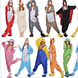 Wholesale 2016 New Cheap Hot Sale Lovely Kigurumi Pajamas Anime Costumes Cosplay Adult Unisex Onesie Dress Sleepwear Halloween