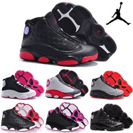 Wholesale Nike Children s Shoes Air Jordan XIII Retro Old Boys Girls Basketball Shoes Kids High Quality Athletic Babys Trainers Cheap Size C Y