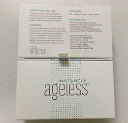 Wholesale Hot sale Free Sachets per Box JEUNESSE AGELESS Eye Cream Instantly Face Lift Anti Aging Skin Care Products Wrinkle TOP Quality
