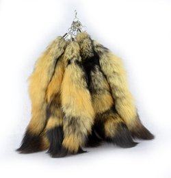 Wholesale Coyote Tail Prairie Wolf Tail with Key Chain Attached ONE Tail quot