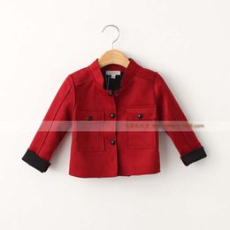 Discount Girls Childrens Red Coat | 2016 Girls Childrens Red Coat ...