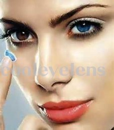 Wholesale freshlook colorsblend send case anti counterfeiting label pairs Freshlook Contact lenses color contact lens crazy lens Tones