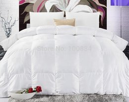 king size high quality white duck quiltwinter duck filler90 white duck cashmere10 duck feather