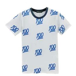 Wholesale Hot New emoji impresso bonito cartoon verão curto t shirts terno treino para homens mulheres menina meninos joggershoodies definir pano de roupa