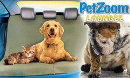 50pcs nuevo perro de la llegada del coche de la parte trasera de la cubierta del asiento trasero mascotas de la manta de la manta de Hammock amortiguador del cojín de amortiguador de la cubierta del asiento de coche para los animales domésticos