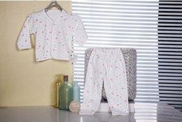 Wholesale Newborn baby monk wear cotton underwear suits two set of baby underwear sets