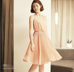 Wholesale 2012 newest summer fashion long sections chiffon dress comfortab material oblique skirts nude colo