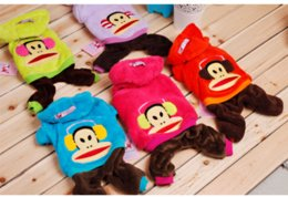 Wholesale 2014 AAAAA High Quality FASHION Teddy puppy dog clothes chihuahua puppy dog mini cute clothes WINTER outfit pet cartoon clothes