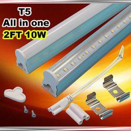 2016 cheap office lighting cheap 70pcs lot smd 2835 integrated t5 600mm 2ft tubes light 10w cheap office lighting