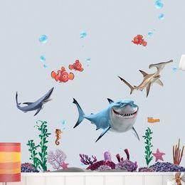 Retro Animal Finding Nemo Wall Sticker Decor Removable Vinyl Nursery Kids Room Inexpensive Finding Nemo Room Decor