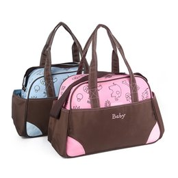 Wholesale Fashion shoulder mummy Diaper Mummy Bag baby Diaper Bag Nursery mother Bag Multifunctiona Waterproof mummy bag V15050501