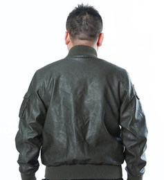 Discount Mens Leather Flight Jacket | 2017 Mens Leather Flight