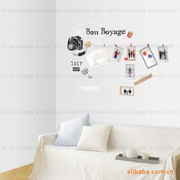 2016 home decor wall sticker travelling 10 pcs home decor time travel fashion pvc wall stickers