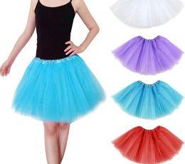 Wholesale 2016 Dance Costume Ball gown Christmas Party stage wear Dresses Women Girl colorsTutu Ballet Bubble Skirts ballroom dance dress B205