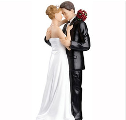 Wholesale Wedding Cake Topper High Quality Four Types Bride Groom Toppers For Wedding Cake Cake Decorations Wedding Event LH
