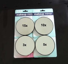 Wholesale 15X X X X Magnifying Mirror Suction Cup Makeup Compact Cosmetic Face Care Shave Travel