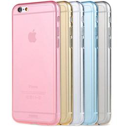 Cadeau de Noël gel de TPU Transparent Crystal Clear New Ultra Thin peau 0.3mm Effacer souple Cas Couverture arrière pour l'iPhone d'Apple 6 4.7 & amp; quot ; DHL EMS gratuit