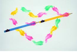 100 шт пятицветная (красный, желтый, зеленый, синий и розовый) ГРОТ КАРАНДАШ GRIP Brand New Детский Vision Care
