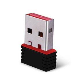Nano 150M USB Wifi Adaptateur Sans Fil 150Mbps IEEE 802.11n g b Mini Antena Adaptateurs Chipset MT7601 Carte Réseau 100pcs Libre DHL