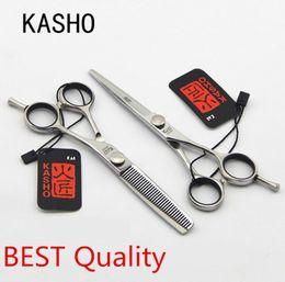 Wholesale Japan quot KIV hair scissors Original Kasho scissors kasho shears kasho thinning scissors and cutting shears salon de ciseaux coiffure