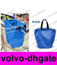 Wholesale Hotsale Larage Shopping Grocery Bag For Supermarket Trolleys Carrier Bag Shopping Bag Reusable Trolleys Folding Shopping Bag GALY1029