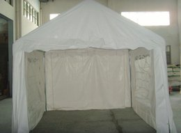 Wholesale Outdoor Party Wedding Tent x3m Trade Show Tent Foloding Tube mm White Water Resistent Tent order lt no track