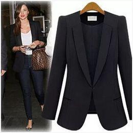 Wholesale XS S M L XL XXL XXXL XXXXL woman Blazers clothes Europe woman business suit coat