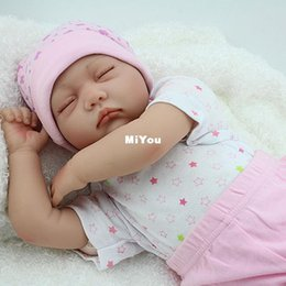 Wholesale 2016 NPK Doll Factory sale CHLOE FAKE BABIES Reborn inch cm Handmade Soft Silicone Reborn Baby Dolls Realistic Play Toy For Kids