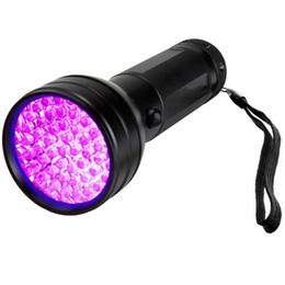 Portable 51 LED UV lampe de poche Lampes UV Blacklight Animaux Urine et Taches Détecteur Scorpion Inspection