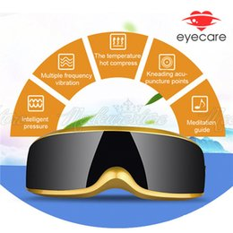 Wholesale New Luxury Rechargeable Electric Eye Massage Magnetic Health Care Massager massage modes With On off switch
