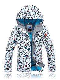 Wholesale 2014 New gsou snow brand winter sports suit warm manteau ski suits femme for descente women snowboarding jacket mountain skiing