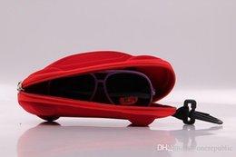 Wholesale Compression Eye Glasses Hard Case Sunglasses Protector Storage Box color Car models of child glasses caseZy00047