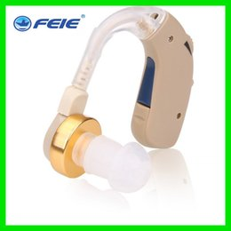 Wholesale Brazil market popular Small Powerful External BTE Behind The Ear Hearing Aids S