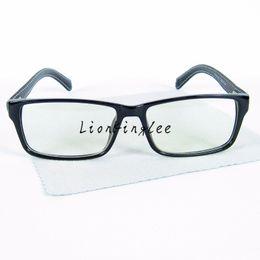 2017 custom eyeglass frames new 2015 classics square eyeglasses brand eyewear pu leather glasses frame optical
