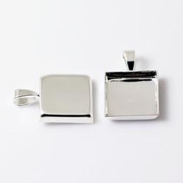 Beadsnice подвесные лотки круг пустой рамкой настройки подходят для кабошон ювелирных изделий и аксессуаров смолы латуни кулон основания