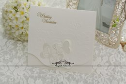 Wholesale The wedding card wedding invitations Ou invitation Creative invitations Wedding invitation card personalization CARDS formal occassion