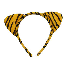 Tiger Ears Tail & Bow tie Costume Set