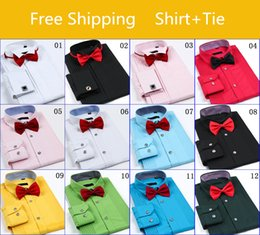 Wholesale New Brand Design Groom Shirts Mens Shirts Free Cuff Links High quality Casual Slim Fit Stylish Dress Shirts Man MT6557