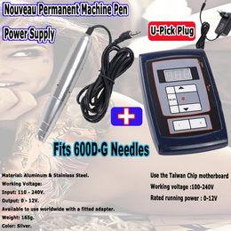 Wholesale NEW Eyebrow Make up Kits amp Lips Rotary Swiss Motor Tattoo Machine Kit Permanent Makeup Machine pen for