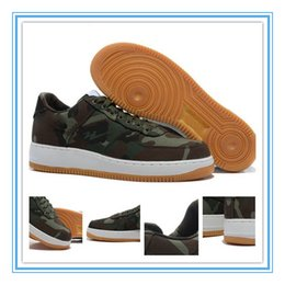 online shopping Air Force Low AF1 Mens Sneaker Shoes Men s Sports Skateboarding Shoes Camo Green