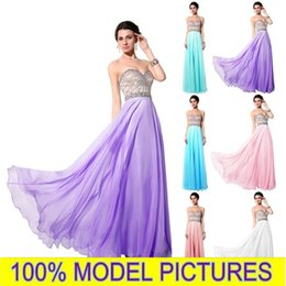 Wholesale Charming Aqua Prom Dresses REAL IMAGE Formal Evening Gowns Occasion Dresses A Line Sweetheart Beaded Long Party Celebrity Gowns