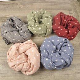 Garçons garçons filles point écharpe douce Enfant automne hiver Nouvelle Mode écharpe enfants étoiles Écharpes Wraps 7colors accessoire