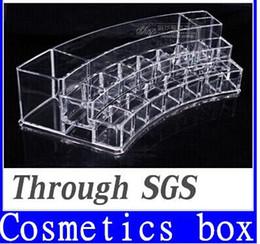 Wholesale Large Desktop cosmetic storage box Makeup Lipstick Cosmetic Storage Display Stand Holder