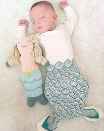 Wholesale 2065 Hot Style Ins Canada Sleep Bag For Baby Lovely Animal Baby Sleeping Bags Shark Mermaid Warm Sleeping Bags Baby Sleeping Bag A5097