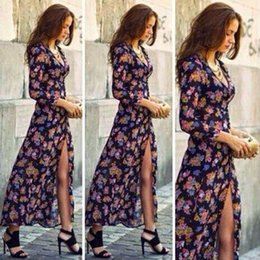 V cut long dresses reversible
